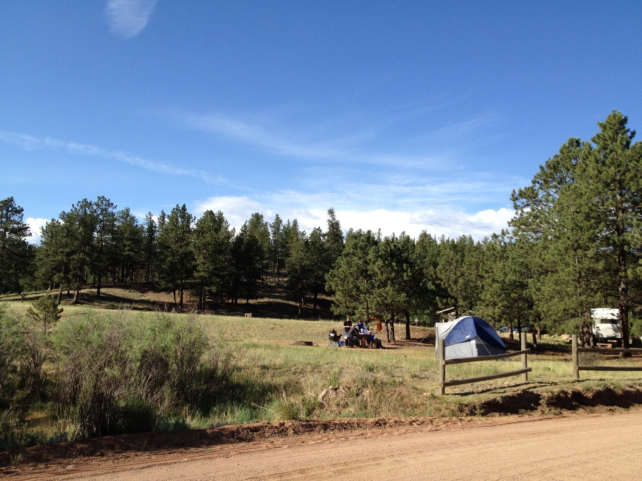 camping near colorado springs | TailsFromColoradoSprings